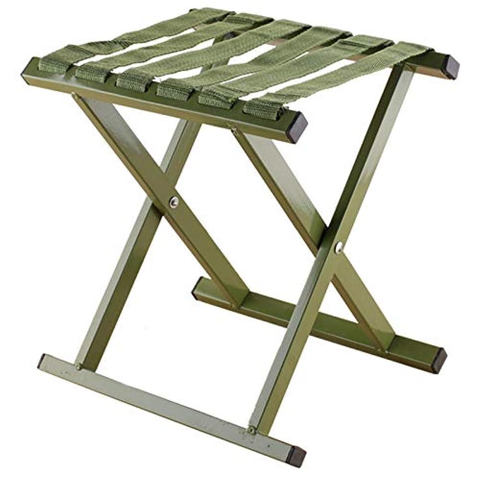 膜ロードハウス流星SODIAL 緑色、折りたたみ式スツール、アウトドアスポーツと釣り用の折りたたみ式スツール、アルミ素材のスツール