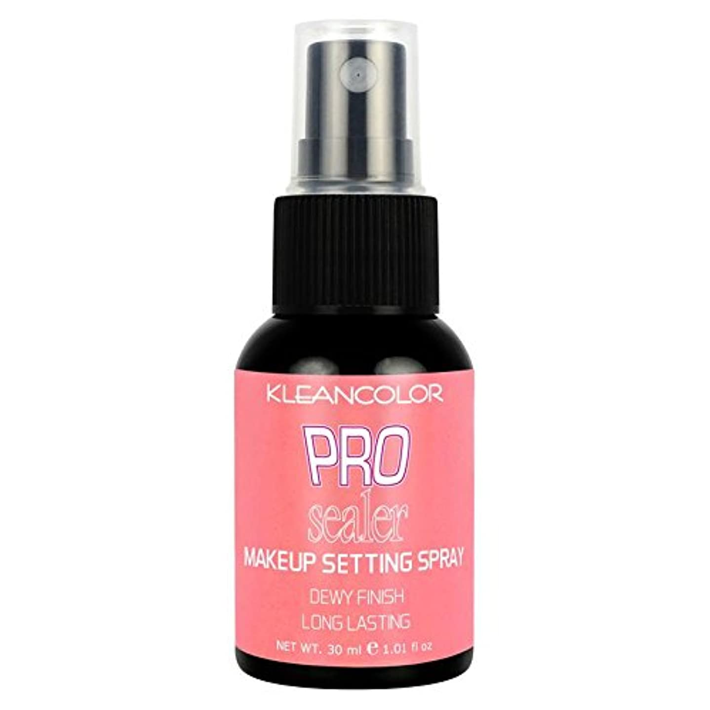 アレルギー性馬鹿げたクロール(6 Pack) KLEANCOLOR Pro Sealer Makeup Setting Spray - Dewy Finish (並行輸入品)