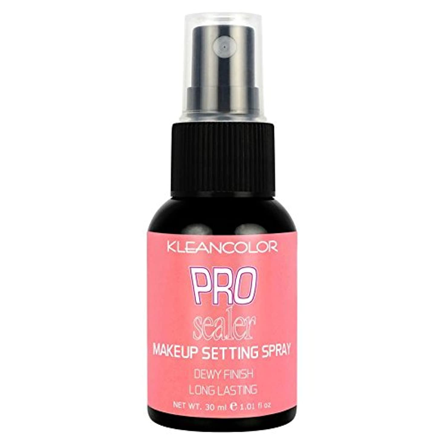 大統領暫定アクセントKLEANCOLOR Pro Sealer Makeup Setting Spray - Dewy Finish (並行輸入品)