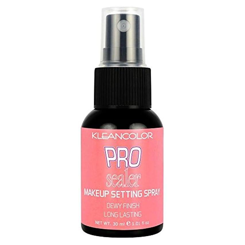 摂氏度スポンジ引き渡す(3 Pack) KLEANCOLOR Pro Sealer Makeup Setting Spray - Dewy Finish (並行輸入品)