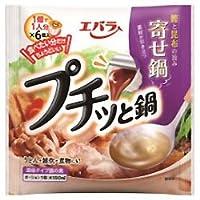 エバラ食品 プチッと鍋 寄せ鍋 23g×6個×12袋入×(2ケース)