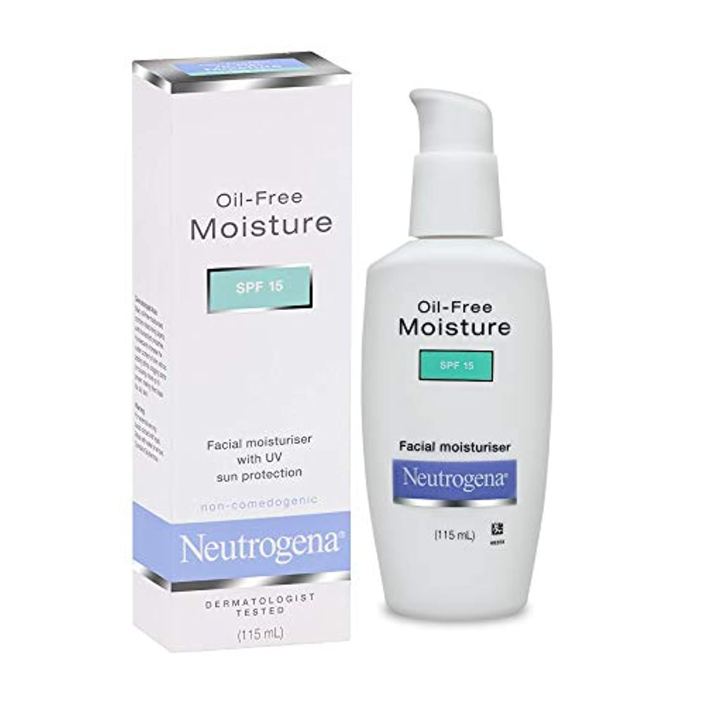 クローゼット軍艦換気Neutrogena Deep Clean Oil-Free Moisture SPF15, 115ml