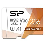 シリコンパワー microSD カード 256GB class10 UHS-1 U3 対応 最大読込100MB/s 4K対応 Nintendo Switch 動作確認済 3D Nand 2019年モデル 【Amazon.co.jp限定】