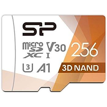 シリコンパワー microSD カード 256GB class10 UHS-1 U3 対応 最大読込100MB/s 4K対応 Nintendo Switch 動作確認済 3D Nand 【Amazon.co.jp限定】
