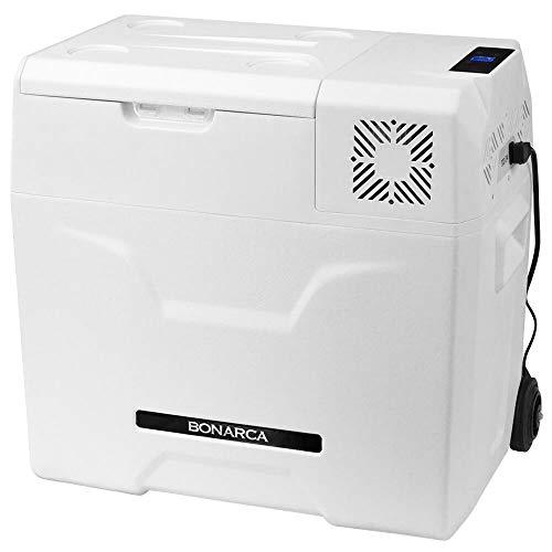 Bonarca 車載対応 冷蔵冷凍庫 50L [氷点下まで脅威の冷却スピード] AC/DC( 12V / 24V )電源対応