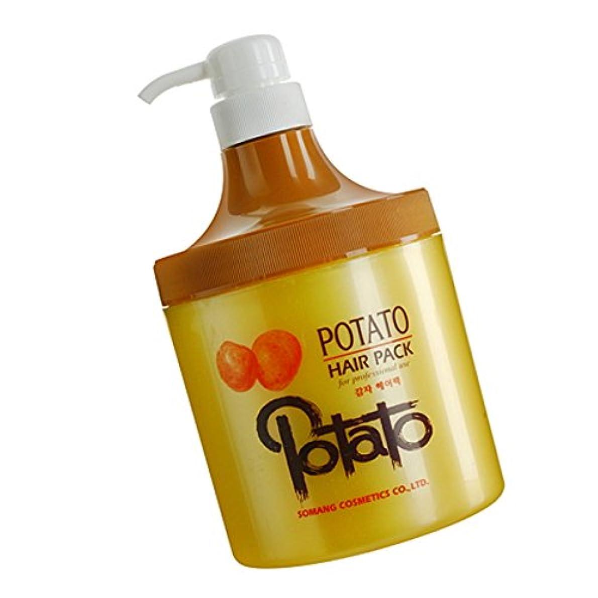 疑問に思うピアノ公園【韓国コスメ】[Somang/希望]Somang Potato Hair Pack 800ml/ポテト(ジャガッイモ)ヘアパク(海外直送品)