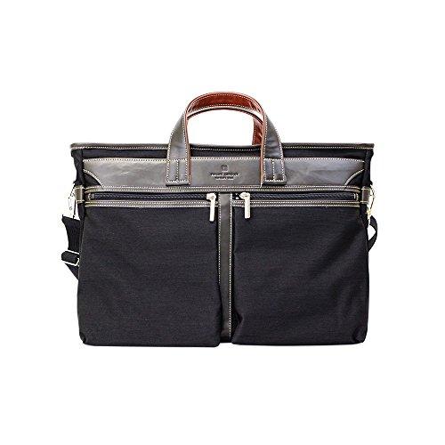 (フィリップラングレー) PHILIPE LANGLET トートバッグ/ビジネスバッグ B4対応 NYビジネスシリーズ 26596 (クロ(01))