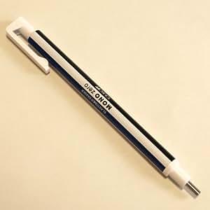トンボ鉛筆 ホルダー消しゴム モノゼロ 丸型 EH-KUR