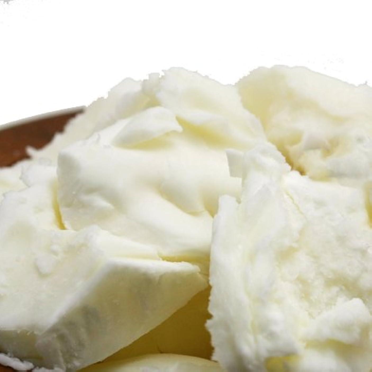 無駄めまい男らしい精製シアバター 500g シア脂 【手作り石鹸/手作りコスメ/手作り化粧品】