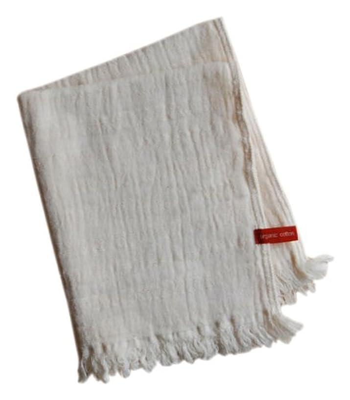 処理する美人最小化する天衣無縫 スラブガーゼ ウォッシュタオル オフホワイト