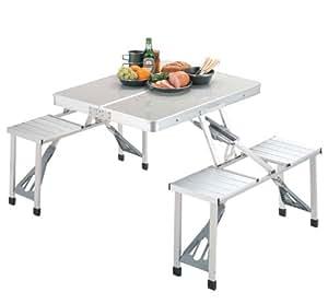 キャプテンスタッグ テーブル グランツ DXアルミピクニックテーブル M-3724