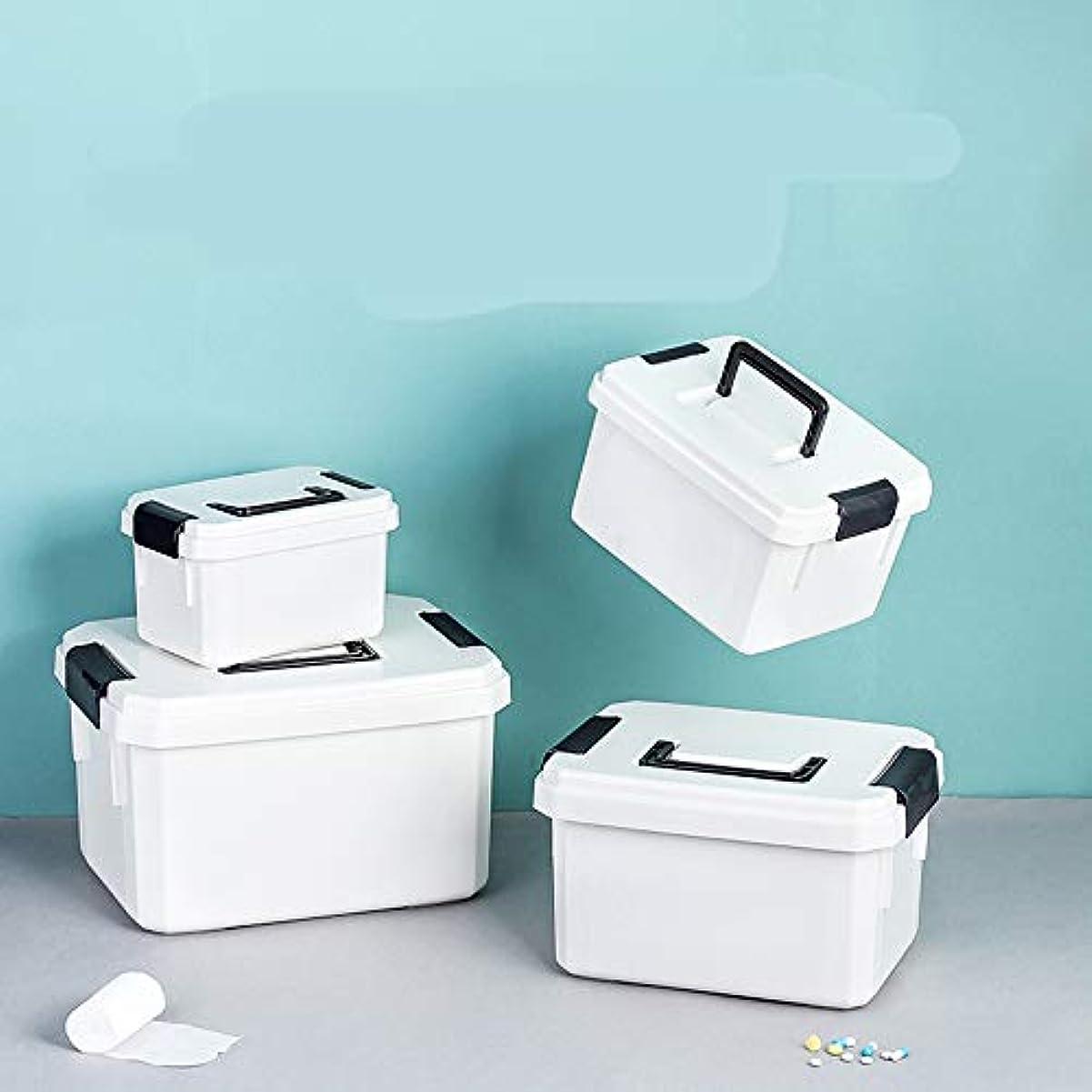 凝縮する暫定のムスタチオ薬箱小大携帯医療箱ホームフルセットの薬収納ボックス救急箱