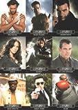 X-Men Origins Wolverine - 9 Card Casting Call C1-C9 Chase Set
