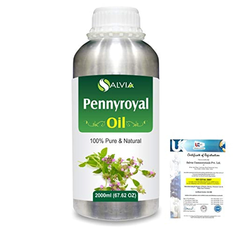 年次証人ボーカルPennyroyal (Mentha pulegium) 100% Natural Pure Essential Oil 2000ml/67 fl.oz.