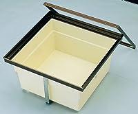 【大倉工業】床下収納ユニット 樹脂コーナーパーツ仕様・1槽式 二階用600タイプ 浅型 シルバー (US-2F6A-1SJ) 1台