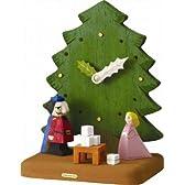 森の時計 くるみ割り人形
