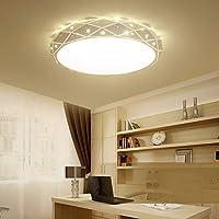 ZPTAT シーリングライト led吸引灯寝室ランプレストラン灯書斎灯のアイデアの円形のランプ,B