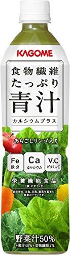 カゴメ 食物繊維たっぷり青汁カルシウムプラス スマートPET 720ml×15本