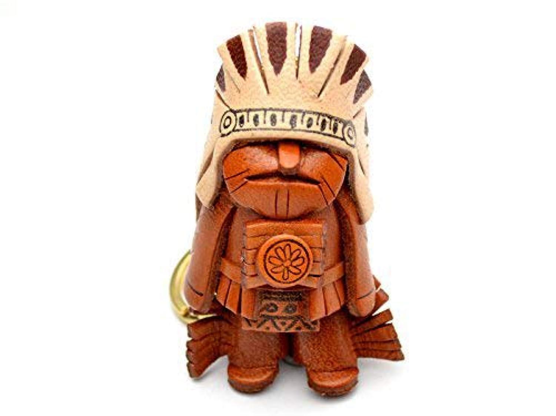 革物語 KH キーホルダー インディアン酋長 VANCA CRAFT (日本製 職人の手作り)