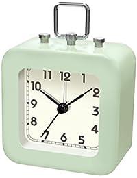 誠時(セイジ) スイープ秒針 目覚まし時計 トット ライトグリーン LW-005LG