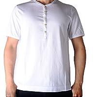 チルコロ (CIRCOLO) 【2018年 春夏】半袖 ヘンリー ネック Tシャツ コットン 100%【メンズ】【並行輸入品】