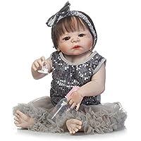 SanyDoll Rebornベビー人形ソフトSilicone 22インチ55 cm磁気Lovely Lifelike Cute Lovely Baby b0763lxd82