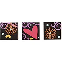 One Grace Place Sassy Shaylee Canvas Art Decor, Black/Pink/Purple by One Grace Place
