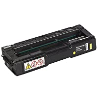 RICOH laser yellow toner cartridge for sp c220a by Ricoh