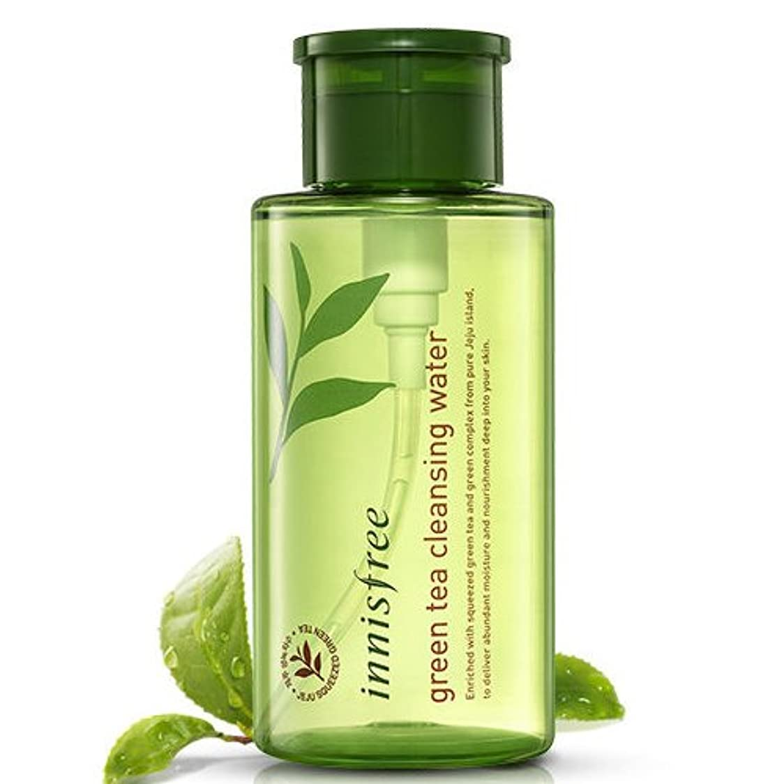 カートン威するプット[INNISFREE]イニスフリーグリーンティークレンジングウォーター 300ml innisfree green tea cleansing water 300ml[並行輸入品]