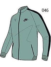 NIKE ナイキ RF ロジャーフェデラー フルフロントジッパー テニスウェア ジャケット プレミアム N98 L(176-183cm) 国内正規品 644781 キャノン