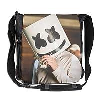 BBWBLbag マシュメロ Marshmello ショルダーバッグ メンズ 斜めがけバッグ ミニワンショルダー バック カバン 多機能 大容量 A4ファイル収納 パソコン タブレット 収納 ユニセックス
