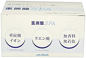 重炭酸SPA 16g×36錠(重炭酸+クエン酸スキンケアタブレット)