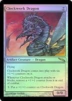 英語版フォイル ミラディン Mirrodin MRD 機械仕掛けのドラゴン Clockwork Dragon マジック・ザ・ギャザリング mtg