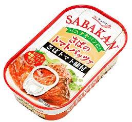 キョクヨー 極洋 SABAKAN さばのトマトパッツァ 90g 缶(EOK5A)