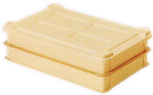 平和工業 餅用 ケース 餅箱 2段セット アイボリー