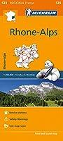 Michelin Regional France: Rhone-Alpes / Phone-Alps