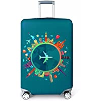 Youth Union Travel Luggage Cover Baggage Suitcase Protector Fit for 18-32 Inch Luggage