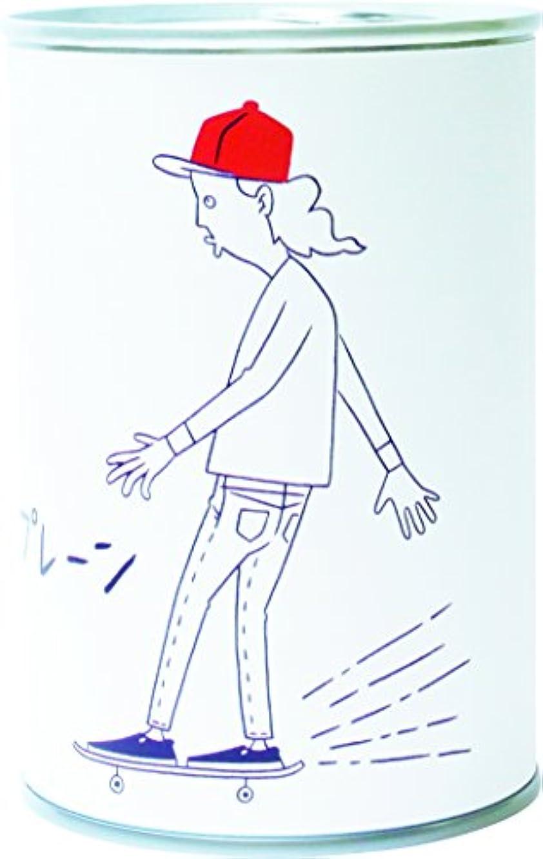 民主主義オレンジファン2コ入り パン缶 タケウチアツシ 横向きスケーター チョコ