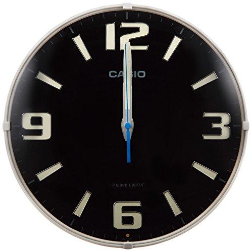 カシオ(Casio) 置き時計・掛け時計 ブラック 30.8...