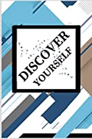 DISCOVER YOURSELF: Calendar + Organizer | Inspirational Quotes And Navy Floral Cover | January through December