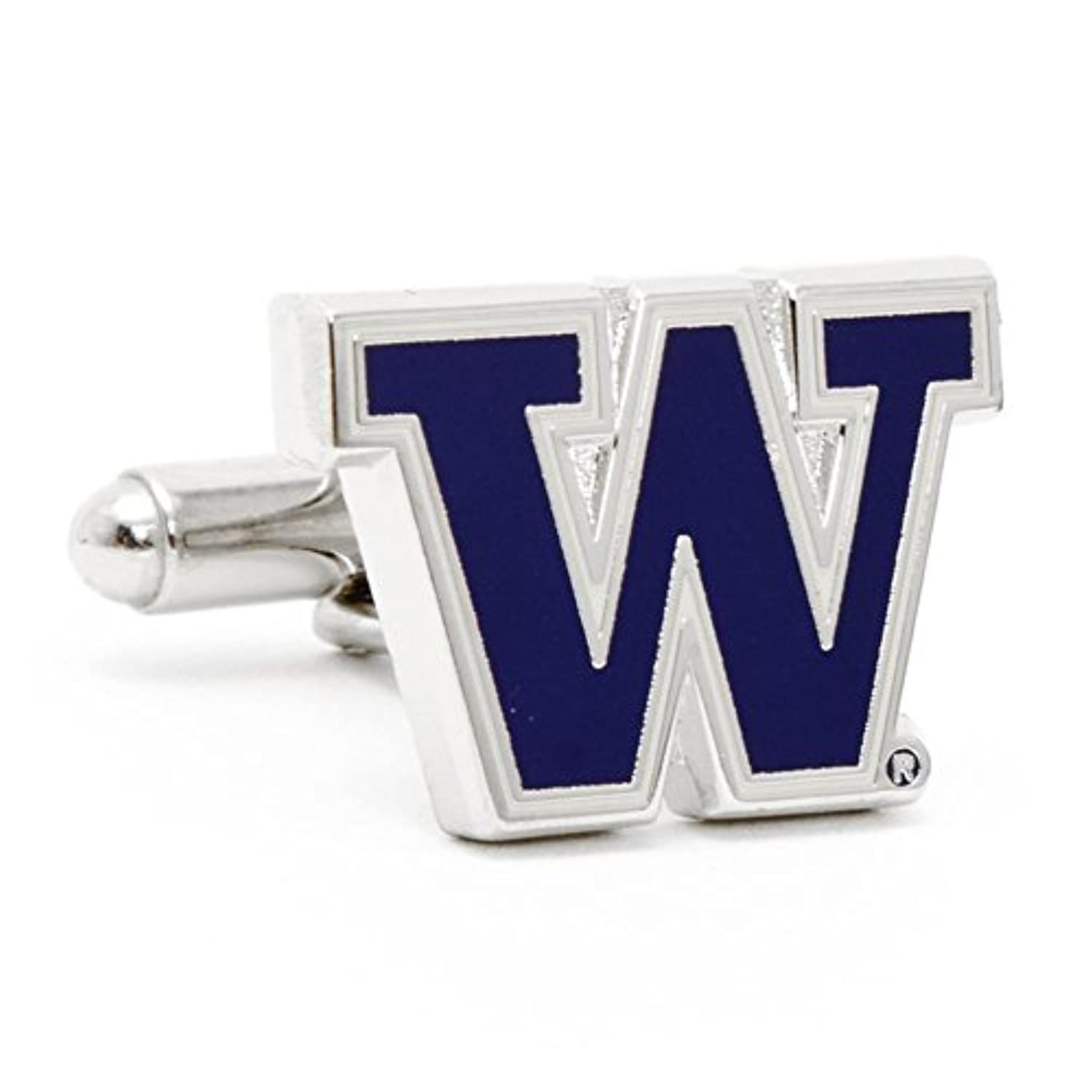 University of Washington Huskies Cufflinks with新しいCollectibleギフトボックス