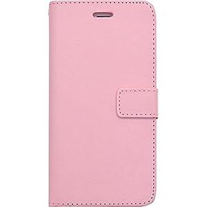 PLATA iPhone 6 plus iPhone6s plus ケース 手帳型 カラー レザー カバー ポーチ iPhone 6 6s プラス 【 ピンク 】 IP6P-6005PK