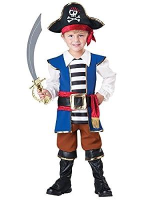 [インキャラクター]InCharacter Baby Pirate Costume, Blue/Red, 4T 60002 [並行輸入品]