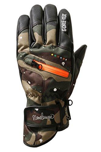 namelessage(ネームレスエイジ) 全6色柄 GORE-TEX スノーボード グローブ メンズ 5指タイプ AGE-20 D-450 XLサイズ ゴアテックス 手袋 手ぶくろ おしゃれ 男性用 スノボ ー グローブ スノー グローブ
