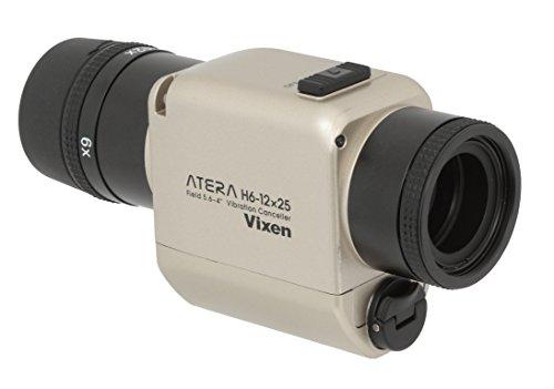 Vixen 単眼鏡 防振単眼鏡 ATERA H6-12×25 シャンパンゴールド 11492-4