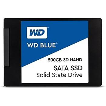 【国内正規代理店品】Western Digital WD Blue 内蔵SSD 2.5インチ 3D NAND 採用 500GB SATA 3.0  WDS500G2B0A