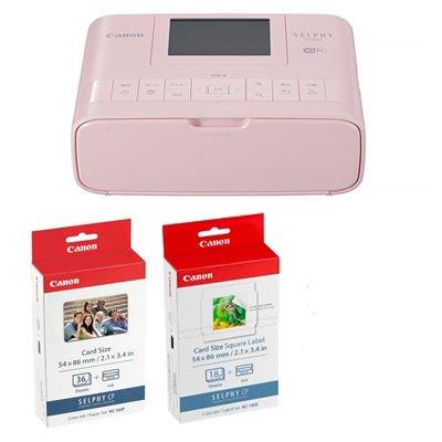 コンパクトフォトプリンター SELPHY CP1300 カードプリントキット (ピンク) 2236C012 1台