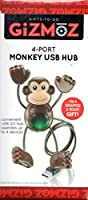Gizmoz 4-Port Monkey USB Hub [並行輸入品]