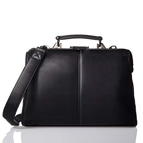 GLEVIO(グレヴィオ) 一流のカバン職人が作る ダレスバッグ ビジネスバッグ メンズ A4 ブラック
