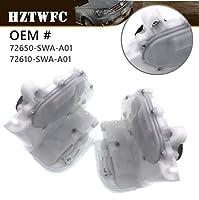 HZTWFC ドアロックアクチュエーターラッチリア左右セット OEM # 72650-SWA-A01 72610-SWA-A01 Honda CR-V 2.4L 2007 2008 2009 2010 2011